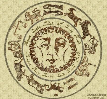 Erstellung des Zodiacs der Voynich-Welt nach J. Dilas