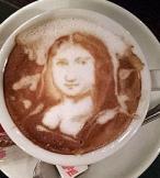 Capuccino Mona Lisa